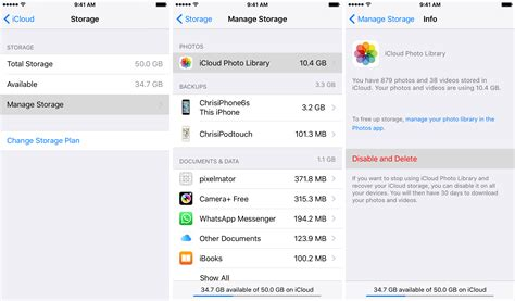 how to make room on icloud how to delete photos from iphone but not icloud
