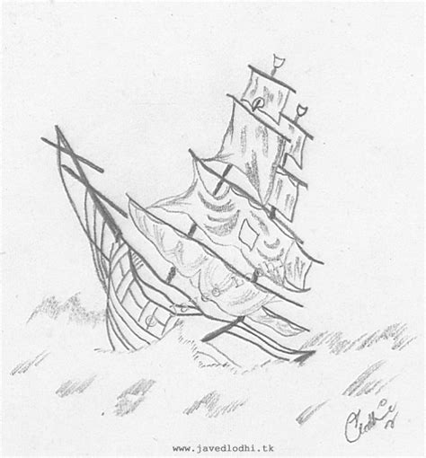 sinking boat drawing sunken pirate ship drawings www imgkid the image