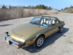 Fiat X1 9 Bertone 1978 Fiat X1 9 Bertone Convertible Sign And 1501