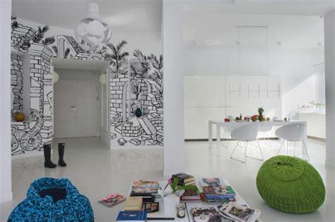 Wand Kreativ Gestalten by Wandgestaltung F 252 Rs Wohnzimmer 36 Kreative Und