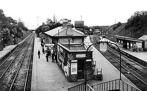Swanley Sheds by Disused Stations Swanley Junction