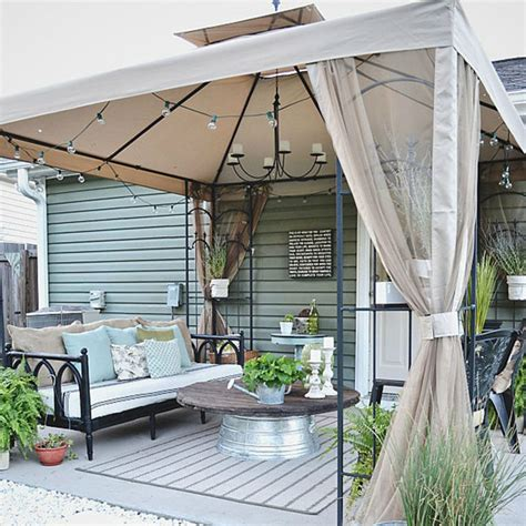 how to decorate after liz patio before and after patio decorating ideas