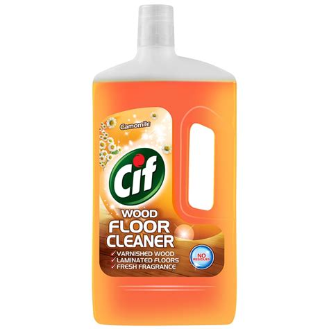 B&M Cif Wood Floor Cleaner Camomile 1L   228710   B&M