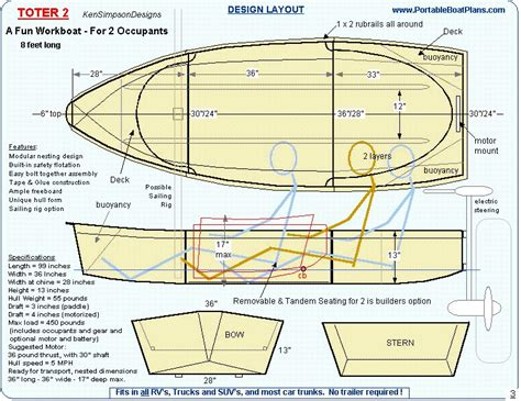 layout duck hunting boat plans free layout duck boat plans biili boat plan