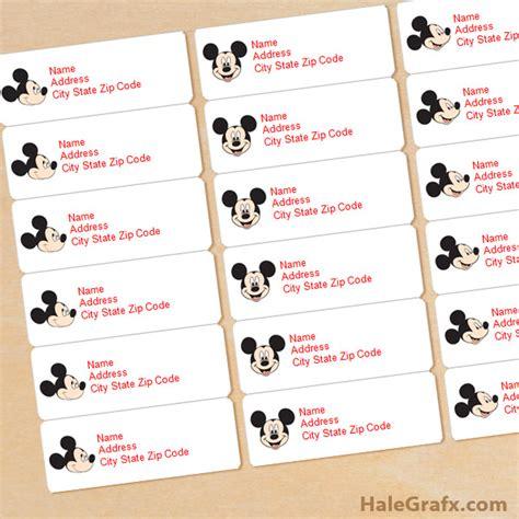 printable christmas tags mickey mouse free printable mickey mouse address labels