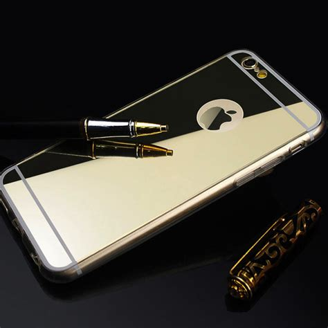 Softcase Mirror For Iphone 6g aliexpress buy mirror fundas coque for apple iphone