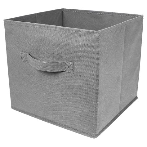 5 x foldable collapsible canvas fabric storage cube bin