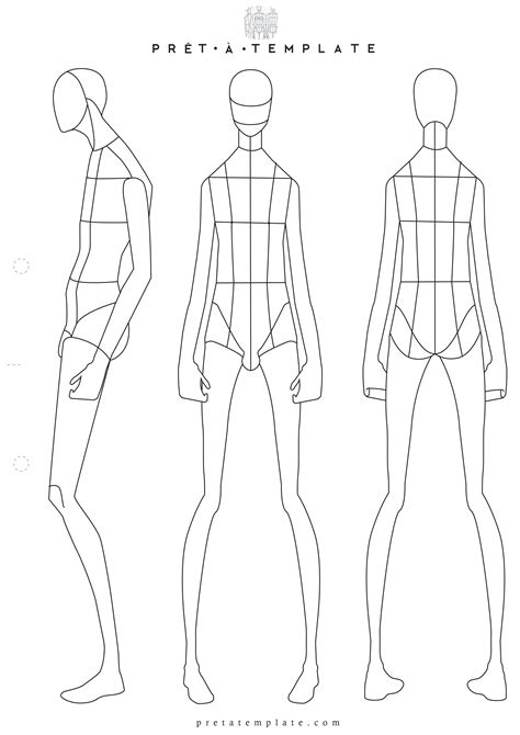 fashion sketchbook with templates figure fashion template d i y your own
