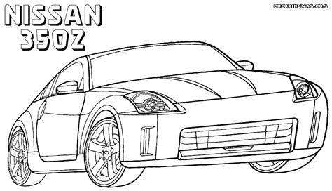 nissan cars coloring pages nissan coloring pages coloring pages to download and print