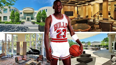 inside michael jordan s house michael jordan s house in chicago inside outside