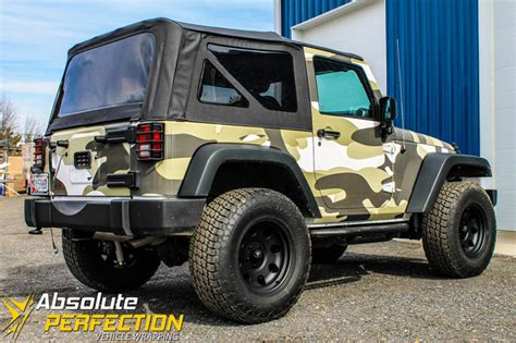 jeep camo camo jeep vehicle wrap absolute perfection baltimore md