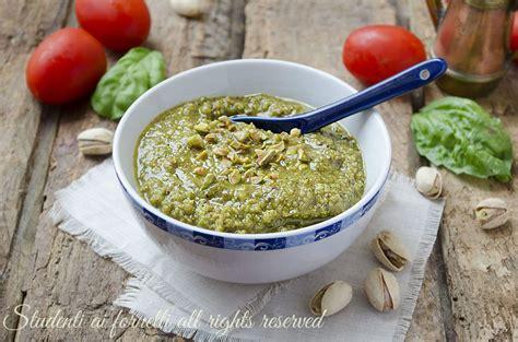 Cucina Facile E Veloce Primi Piatti Pesto Di Pistacchi Fatto In Casa Facile E Veloce Per Primi