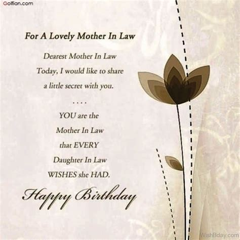 mother in law s 64 birthday wishes for mother in law