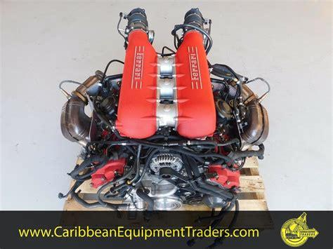 ferrari    complete engine caribbean equipment