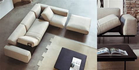 Up Sofas by Vibieffe Sit Up Sofa System In Fabric Leather