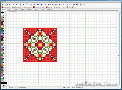 pattern grid program macstitch counted cross stitch software needlenthread com
