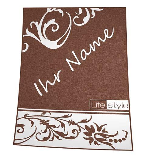 decke mit namen blumenornament geschenk decke mit eigenem namen