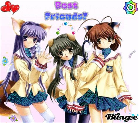3 Anime Best Friends by Best Friends Anime Picture 88921346 Blingee