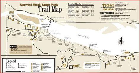 starved rock map post black friday hike starved rock chicago hiking