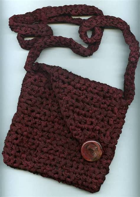 free crochet patterns bags totes purses mostly black passport bag crochet little girl bags