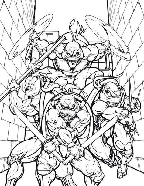 ninja turtles names coloring pages teenage mutant ninja turtles in the alley coloring page