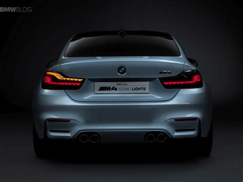 Bmw Lights by A Closer Look At Bmw M4 Concept Iconic Lights