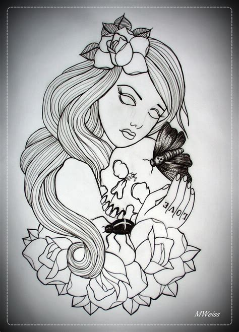 tattoo outlines traditional outline