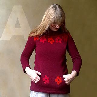 Salfa Tunic by Ravelry Papaver Tunic Pattern By Atelier Alfa