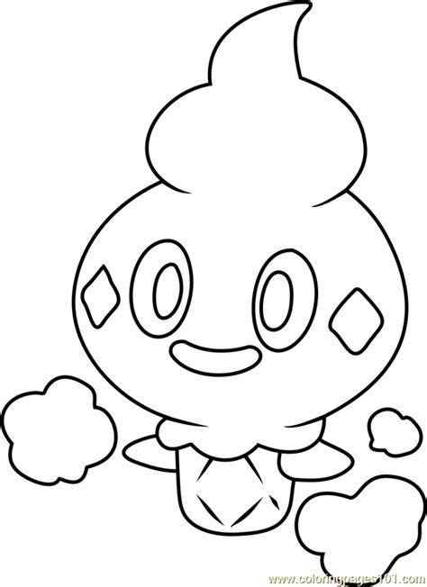 vanillite pokemon coloring page free pok 233 mon coloring