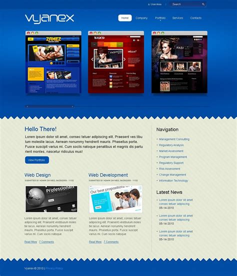 drupal themes web design web design drupal template 28397