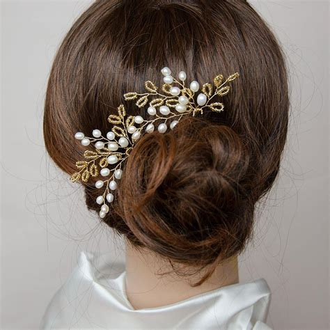 Handmade Hair Bracelets - custom made handmade bridal headpieces wedding hair