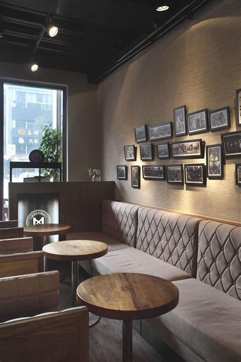 small cozy warn  moody interior design  coffee shop