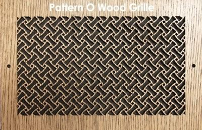 pattern cut wood grilles heat registers wood vent covers patterncut