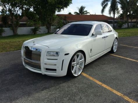 customized rolls royce interior sell used rolls royce ghost sedan 4 door white with