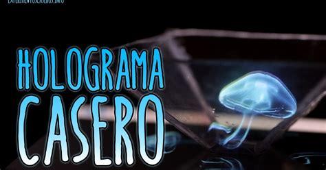 caratula para holograma percebelandia c 243 mo hacer un holograma casero para el