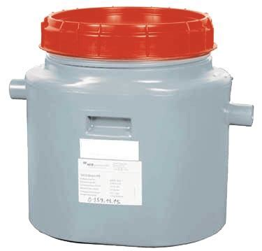 Polyethylene grease trap   INOX RVS FOR FOOD INDUSTRY