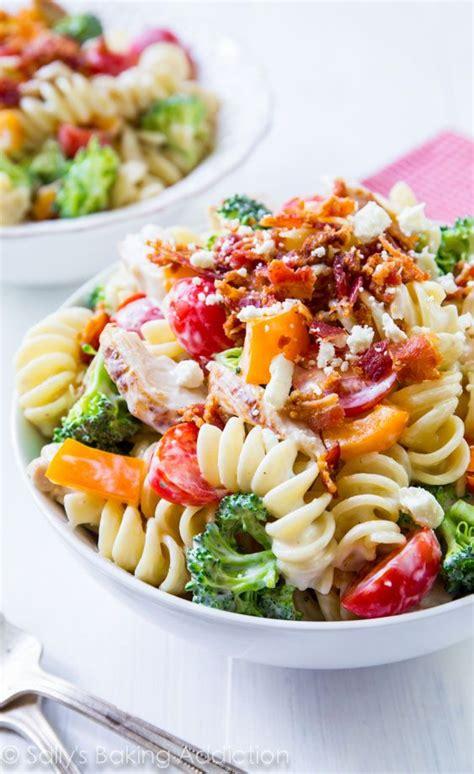 the best creamy chicken pasta salad creamy chicken pasta salad recipe