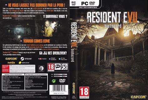 Kaset Bd Ps4 Resident Evil 7 Biohazard resident evil 7 biohazard dvd cover 2017 fr nl custom pc