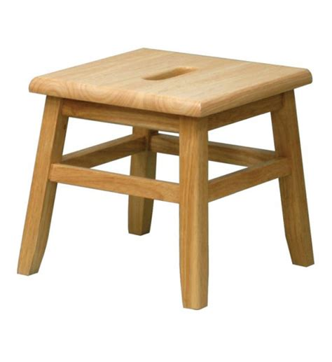 wooden step stool in step stools