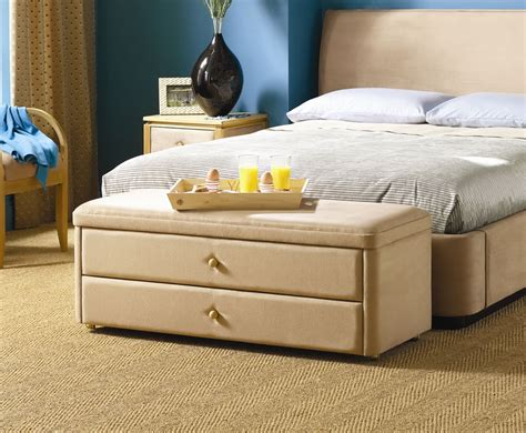 ottoman storage bed with drawers taymar storage drawer end of bed ottoman