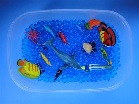 sensory water how to create a sensory tub 7 steps