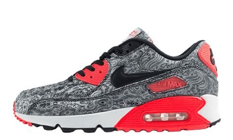 nike air max 90 paisley infrared the sole supplier