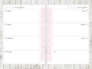 a5 calendar template a5 2015 week on 2 pages calendar printable by