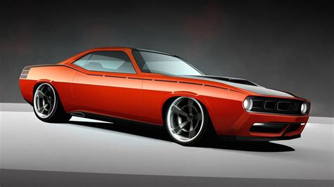 Classic Car Wallpaper Set Options by Usa Plymouth Barracuda Classic 2010 Widescreen Cuda