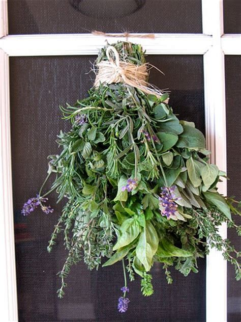 Wedding Bouquet Herbs by Herbs Are For Your Green Wedding