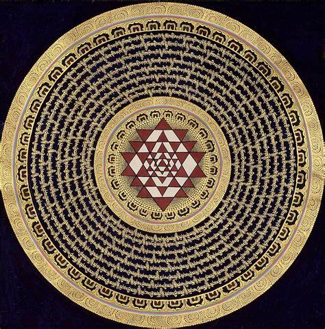sri yantra mandala meaning www imgkid com the image