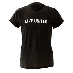 Tshirt Sablon United black live united t shirt united way of northwest