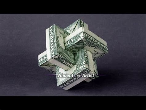 Origami Money Folding - origami umulius rectangulum w link to folding