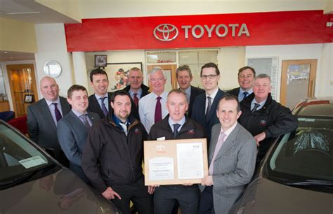 Toyota Dealers Ireland Toyota Dealers Earn Prestigious Bodyshop Awards Autotrade Ie