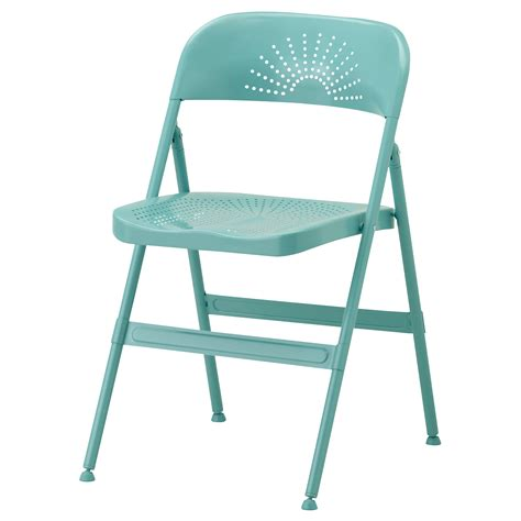 ikea folding stool frode folding chair turquoise ikea